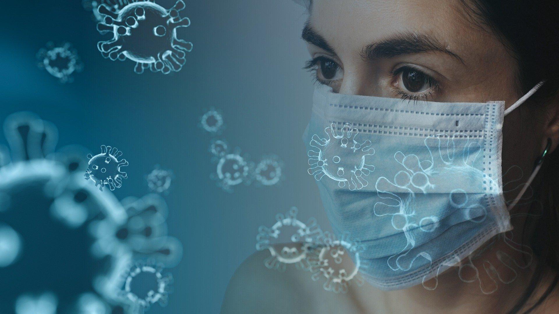 Anti-Virus-Maske